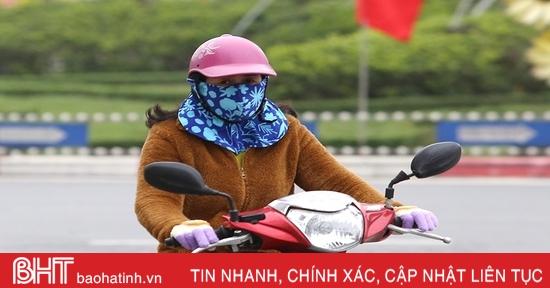 Hôm nay, Hà Tĩnh mưa vài nơi, nhiệt độ thấp nhất 13-16 độ C