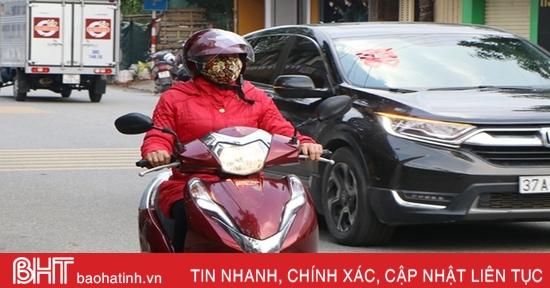 Hôm nay, Hà Tĩnh mưa vài nơi, nhiệt độ thấp nhất 15-18 độ C