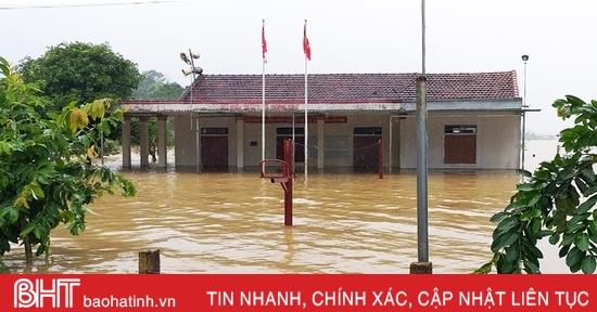 Hôm nay, Hà Tĩnh tiếp tục mưa, đề phòng ngập úng kéo dài ở vùng trũng thấp thuộc huyện miền núi