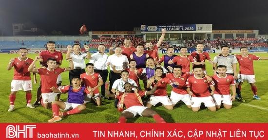 Hồng Lĩnh Hà Tĩnh: Những bước chân không mỏi trên đấu trường V.League 2020