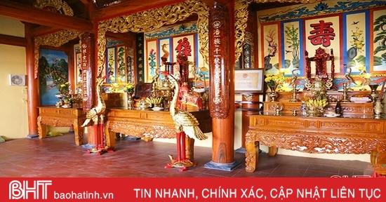 Huy động hơn 730 triệu đồng trùng tu di tích lịch sử văn hóa cấp tỉnh nhà thờ Phan Đình Bút