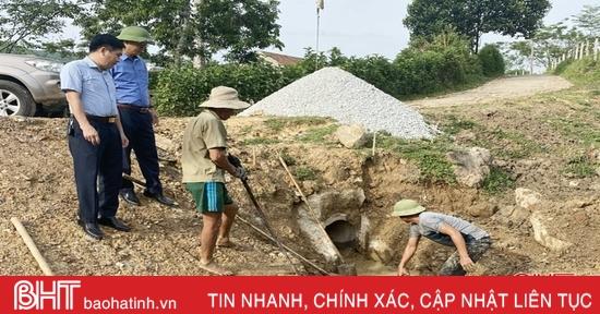 Huyện miền núi Hà Tĩnh chủ động ứng phó với bão số 5