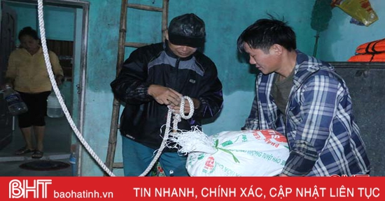 Huyện miền núi Hà Tĩnh chủ động ứng phó với bão số 8