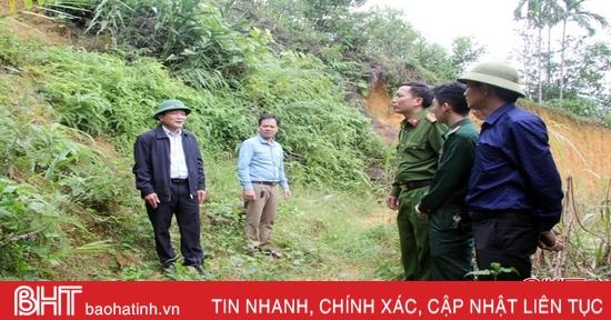 Huyện miền núi Hà Tĩnh đề phòng lũ quét, lở đất do ảnh hưởng của bão số 9