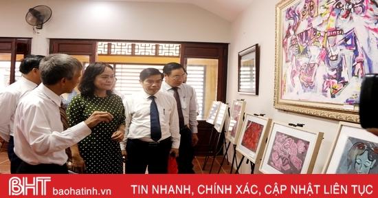 Khai mạc triển lãm tranh minh họa Truyện Kiều và các ấn phẩm của Nguyễn Du