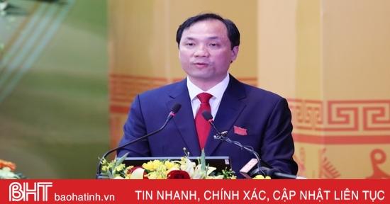 Khai mạc trọng thể Đại hội Đại biểu Đảng bộ tỉnh Hà Tĩnh lần thứ XIX