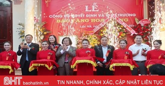 Khai trương bảo tàng tư nhân đầu tiên của Hà Tĩnh