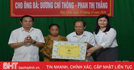 Khánh thành nhà nhân ái cho gia đình có hoàn cảnh đặc biệt khó khăn tại Hồng Lĩnh