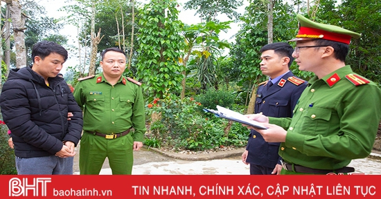 Khởi tố đối tượng cắt khóa, trộm cắp tài sản ở phố núi Hà Tĩnh