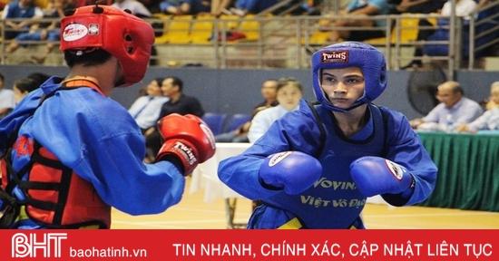 Khởi tranh Giải Vô địch Vovinam toàn quốc lần thứ 27 tại Hà Tĩnh