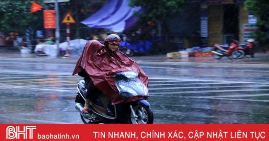 Không khí lạnh gây mưa rét ở Hà Tĩnh