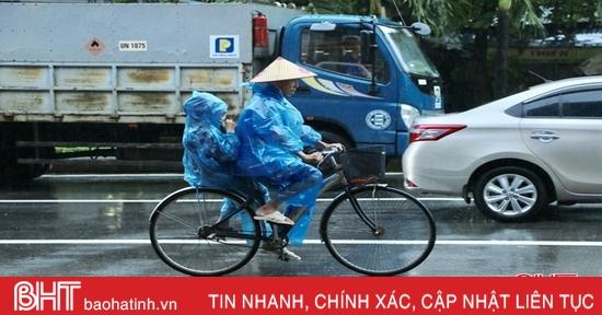 Không khí lạnh tăng cường, Hà Tĩnh tiếp tục mưa rét