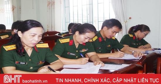 Kiểm tra nhận thức chính trị cho sỹ quan quân đội trung, cao cấp tại Hà Tĩnh