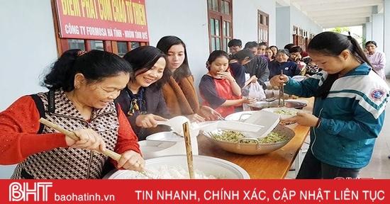 Lan tỏa mạnh mẽ hoạt động từ thiện nhân đạo ở Hà Tĩnh
