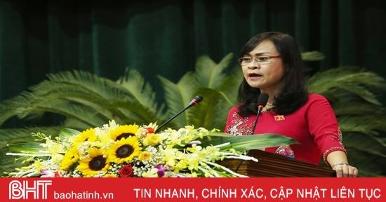 Lắng nghe, tiếp thu ý kiến cử tri Hà Tĩnh để ban hành các cơ chế, chính sách sát thực tiễn, hợp lòng dân