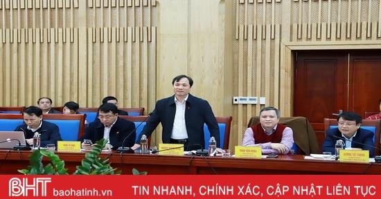 Lãnh đạo Hà Tĩnh - Nghệ An trao đổi kinh nghiệm phát triển kinh tế - xã hội