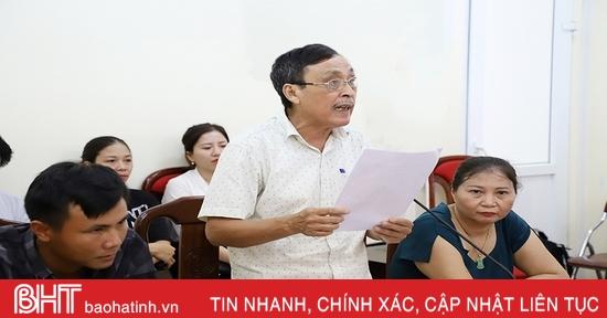 Lãnh đạo Hà Tĩnh tiếp công dân định kỳ tháng 10 vào ngày 19