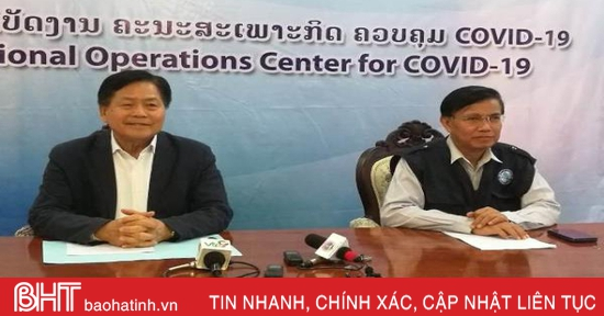 Lào triển khai tiêm vaccine ngừa Covid-19 cho nhân viên y tế tuyến đầu