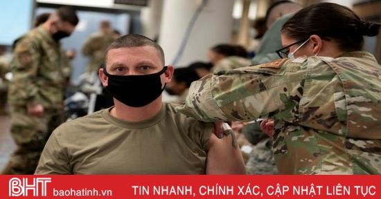 Lính Mỹ đồn trú tại Nhật Bản, Hàn Quốc tiêm vaccine ngừa Covid-19