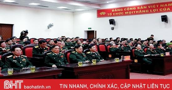 Lực lượng vũ trang Hà Tĩnh phát huy truyền thống