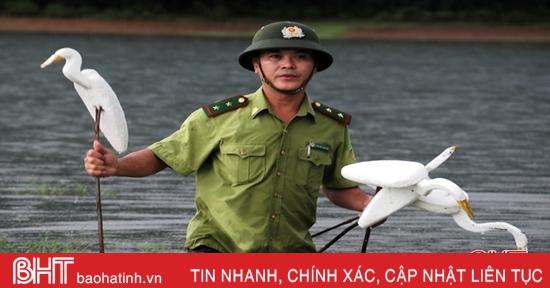 Mạnh tay xử lý nạn săn bắt chim trời ở Hà Tĩnh