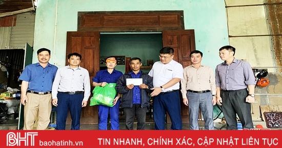Mitraco Hà Tĩnh dành hơn 1 tỷ đồng thực hiện an sinh xã hội