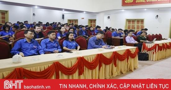 Nâng cao vai trò, trách nhiệm của thanh niên Hà Tĩnh trong xây dựng Đảng