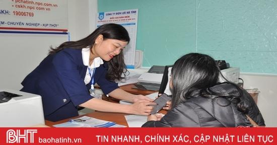 Ngành điện Hà Tĩnh hiện đại hóa dịch vụ chăm sóc khách hàng