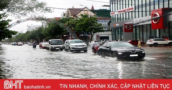 Ngập lụt ở thành phố Hà Tĩnh: Bài toán nan giải!
