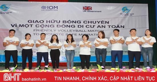 Người dân Can Lộc được truyền thông kiến thức phòng chống mua bán người