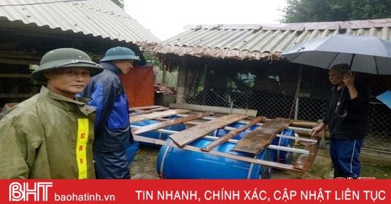 """Người dân Vũ Quang chủ động """"4 tại chỗ"""", không lo lũ bất ngờ"""