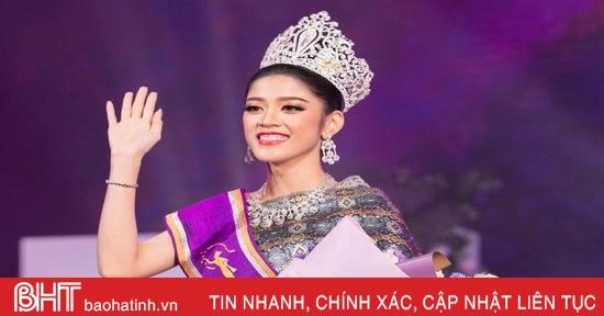 Người đẹp 24 tuổi đăng quang Hoa hậu Lào 2020