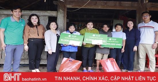 Tặng mái ấm tình thương, hỗ trợ sinh kế cho người dân vùng lũ Hà Tĩnh