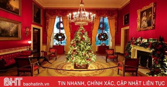 Nhà Trắng trang hoàng đón Giáng sinh cuối trong nhiệm kỳ của ông Trump