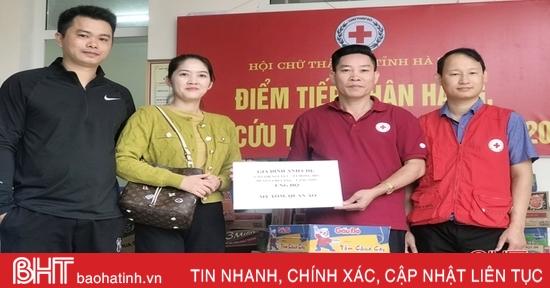 Nhiều hoạt động ý nghĩa đồng hành cùng người dân vùng lũ Hà Tĩnh
