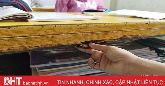 Nhiều trường học ở Hà Tĩnh thiếu cơ sở vật chất sau lũ
