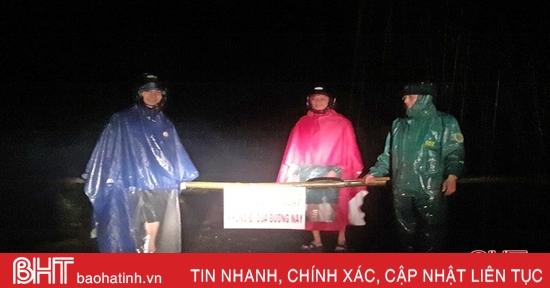 Nhiều xã bị ngập cục bộ, Kỳ Anh, Vũ Quang lên phương án ứng phó với mưa lũ