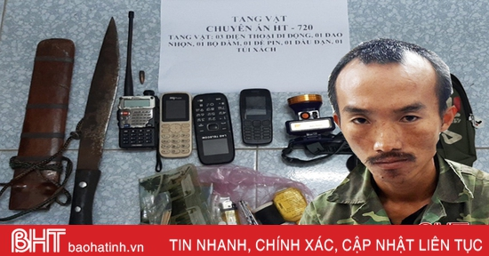 Nổ súng vây bắt nhóm vận chuyển ma túy từ Lào sang, 1 chiến sỹ BĐBP Hà Tĩnh bị thương