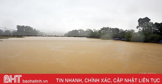 Nước lũ rút nhanh, Hương Khê thiệt hại gần 280 ha ngô, rau màu