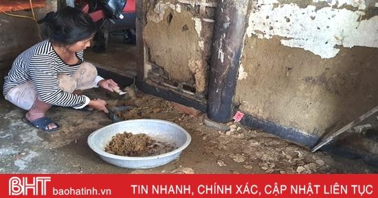 Nước lũ xô nghiêng nhà, hai chị em đơn thân, bệnh tật ở Hà Tĩnh rất cần sự hỗ trợ của cộng đồng