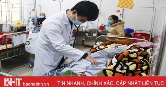 Rét đậm, người cao tuổi, trẻ nhỏở Hà Tĩnh nhập viện gia tăng