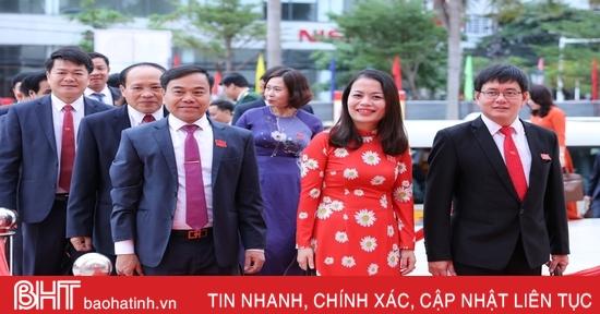 Sáng nay, Đại hội Đảng bộ Hà Tĩnh khóa XIX công bố kết quả bầu nhân sự nhiệm kỳ mới