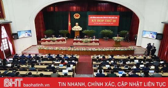 Sáng nay, HĐND tỉnh Hà Tĩnh thảo luận về giải pháp tháo gỡ khó khăn, phát triển KT-XH