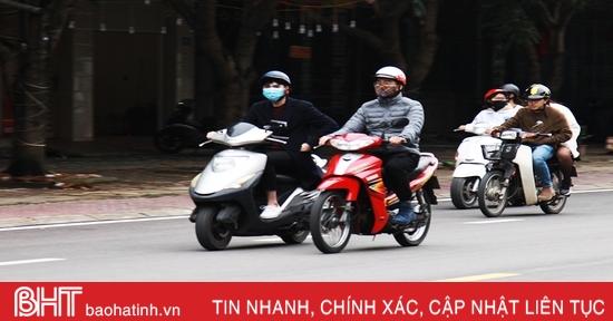 Sáng sớm nay, nhiệt độ ở Hà Tĩnh thấp kỷ lục