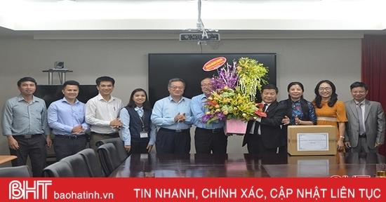 Sở LĐ-TB&XH chúc mừng Formosa Hà Tĩnh nhân ngày Doanh nhân Việt Nam