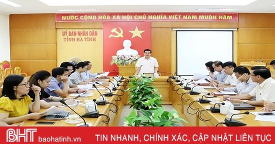 Soát xét công tác chuẩn bị Đại hội Thi đua yêu nước toàn tỉnh Hà Tĩnh lần thứ VII
