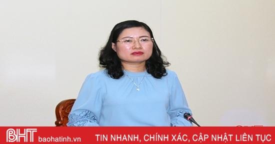 Sớm hoàn thiện các nội dung liên quan đến lao động, thương binh, xã hội trình kỳ họp HĐND tỉnh Hà Tĩnh