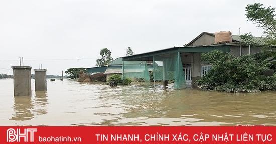 Thạch Hà ước thiệt hại hơn 850 tỷ đồng sau mưa lũ
