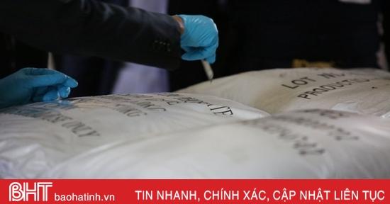 Thái Lan tuyên bố nhầm 11 tấn phụ gia thực phẩm là ma túy tổng hợp