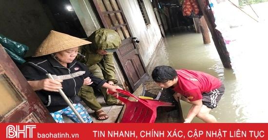 Thành phố Hà Tĩnh di dời 72 hộ dân đến nơi an toàn